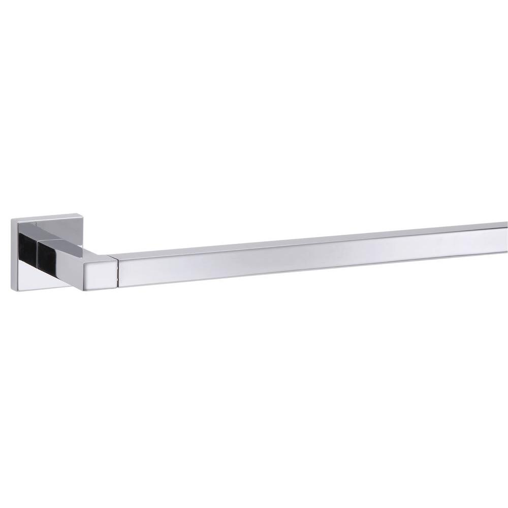 Taymor Electra 18 in. Towel Bar in Polished Chrome  sc 1 st  The Home Depot & Taymor Electra 18 in. Towel Bar in Polished Chrome-04-2118 - The ...