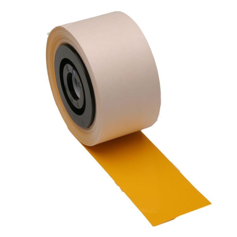 MiniMark Industrial Printer General Purpose 2.25 in. x 110 ft. Vinyl Yellow Tape