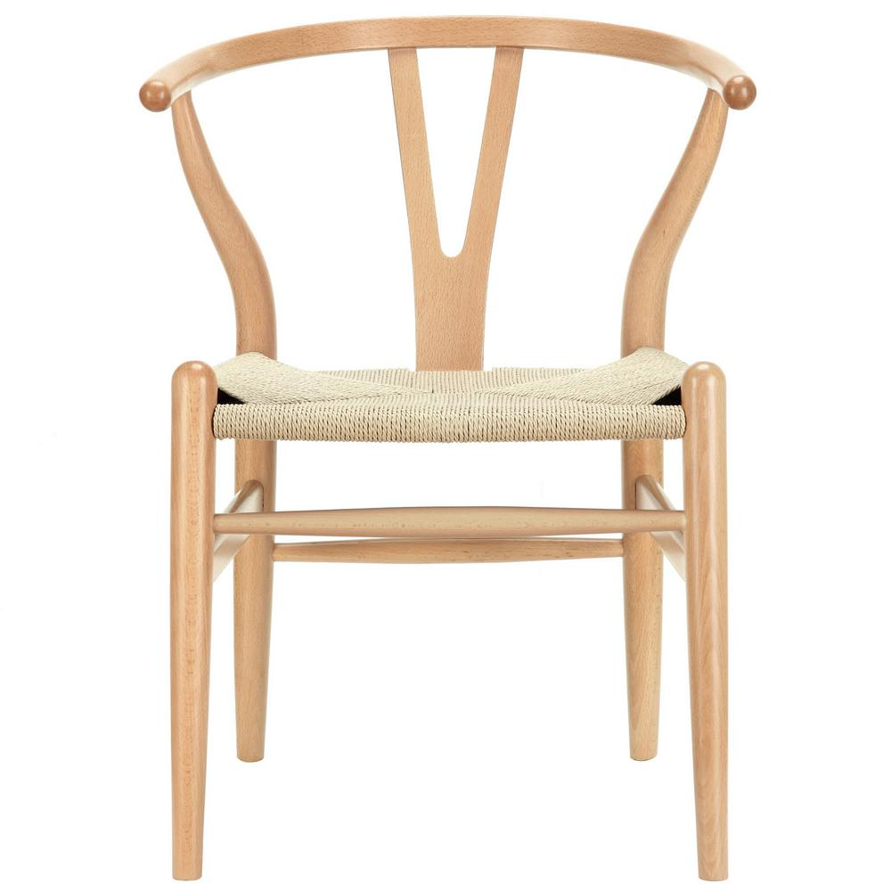 Amish Natural Dining Wood Armchair