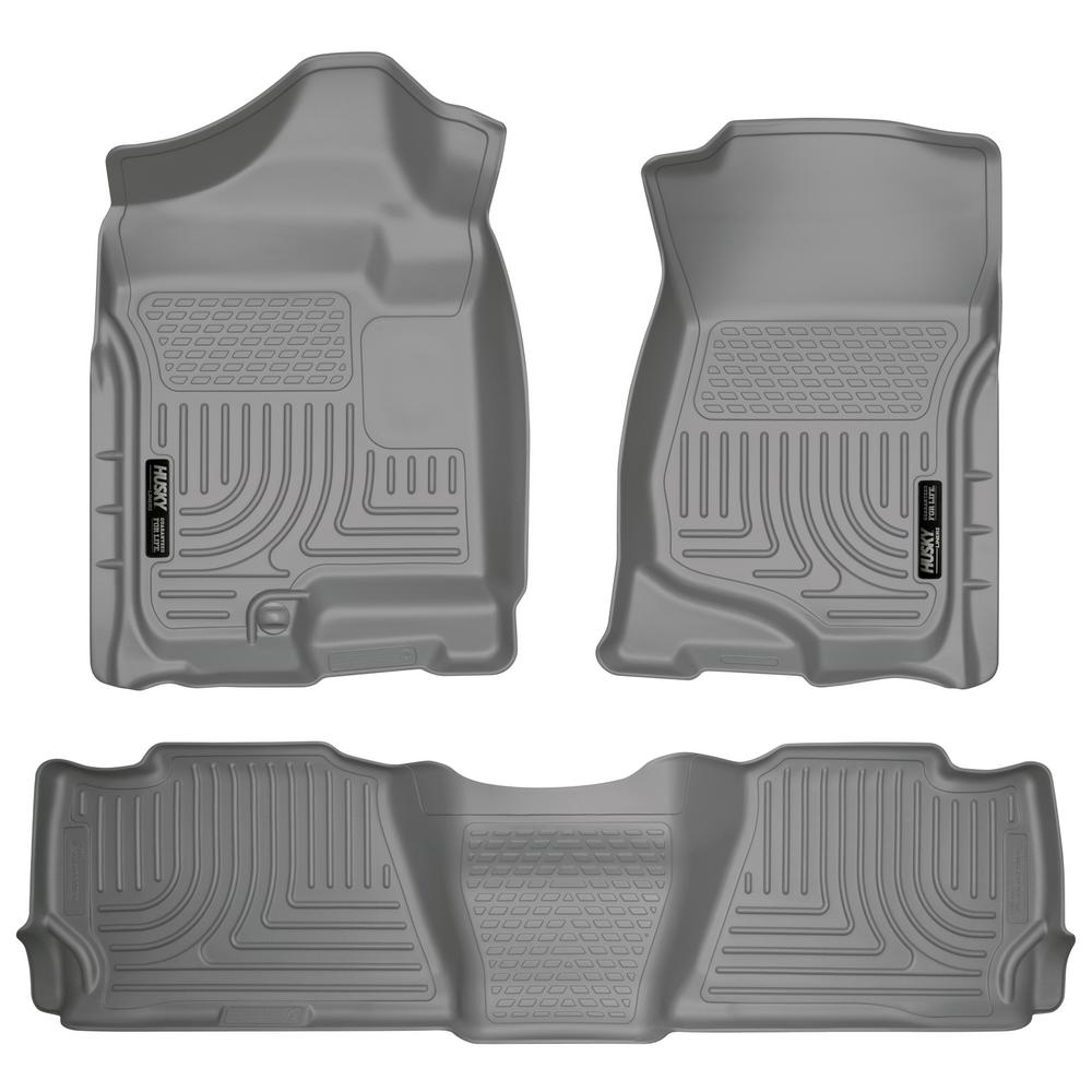 Husky Liners Front 2nd Seat Floor Liners Fits 07 14 Escalade