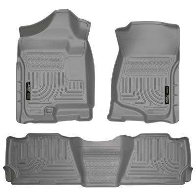 Front & 2nd Seat Floor Liners Fits 07-14 Escalade/Tahoe/Yukon