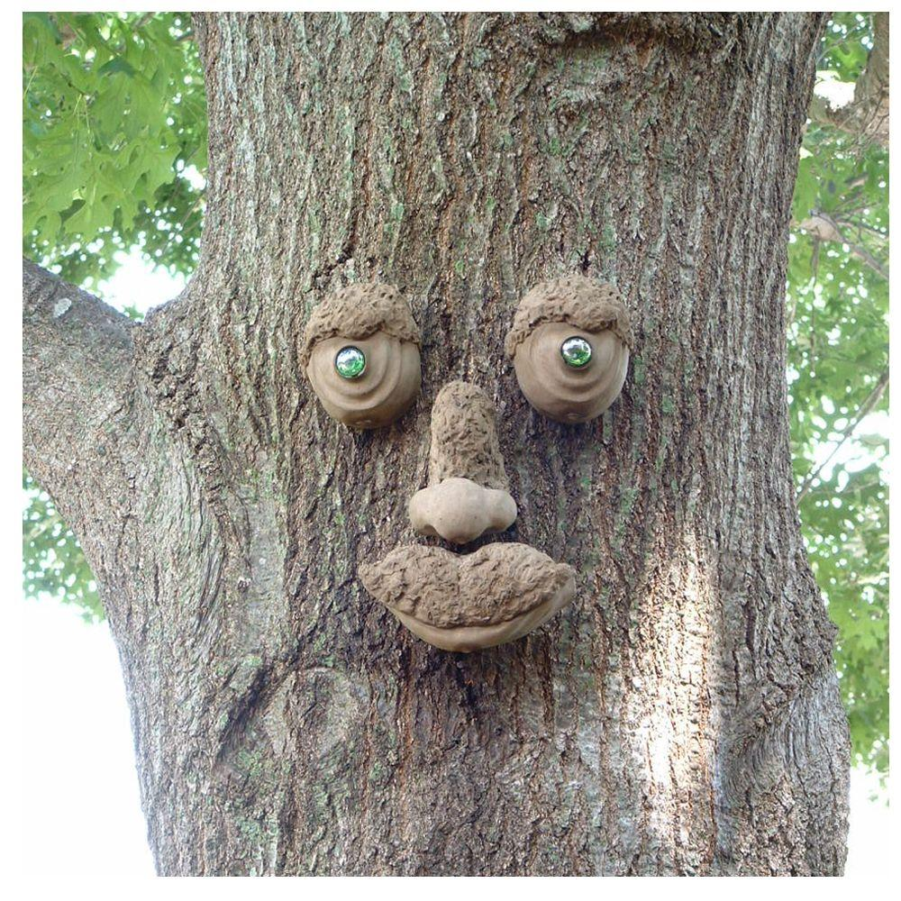 Attirant Genuine Tree Peeple WoodChuck Tree Face