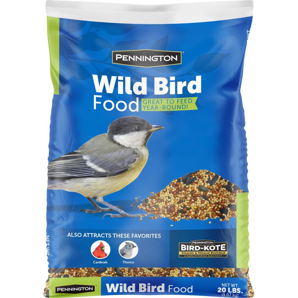 20 lbs. Wild Bird Seed Food