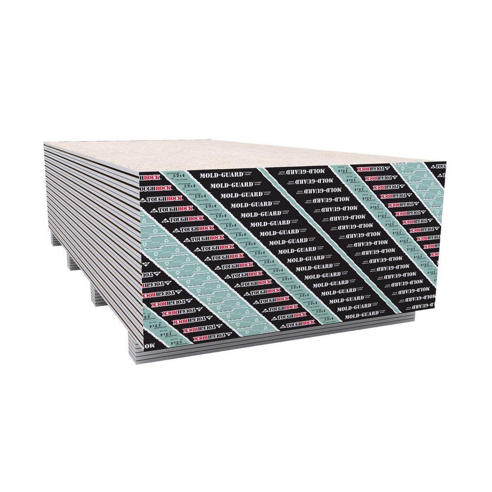 Sheetrock Mold Tough Firecode Core 5 8 In X 4 Ft X 8 Ft