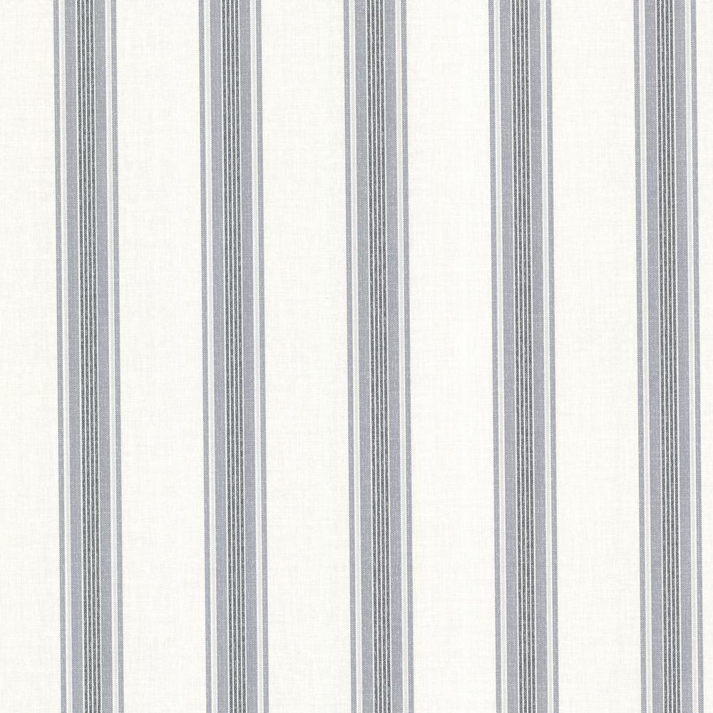 Brewster Lineage Olive Stripe Wallpaper Sample 2718