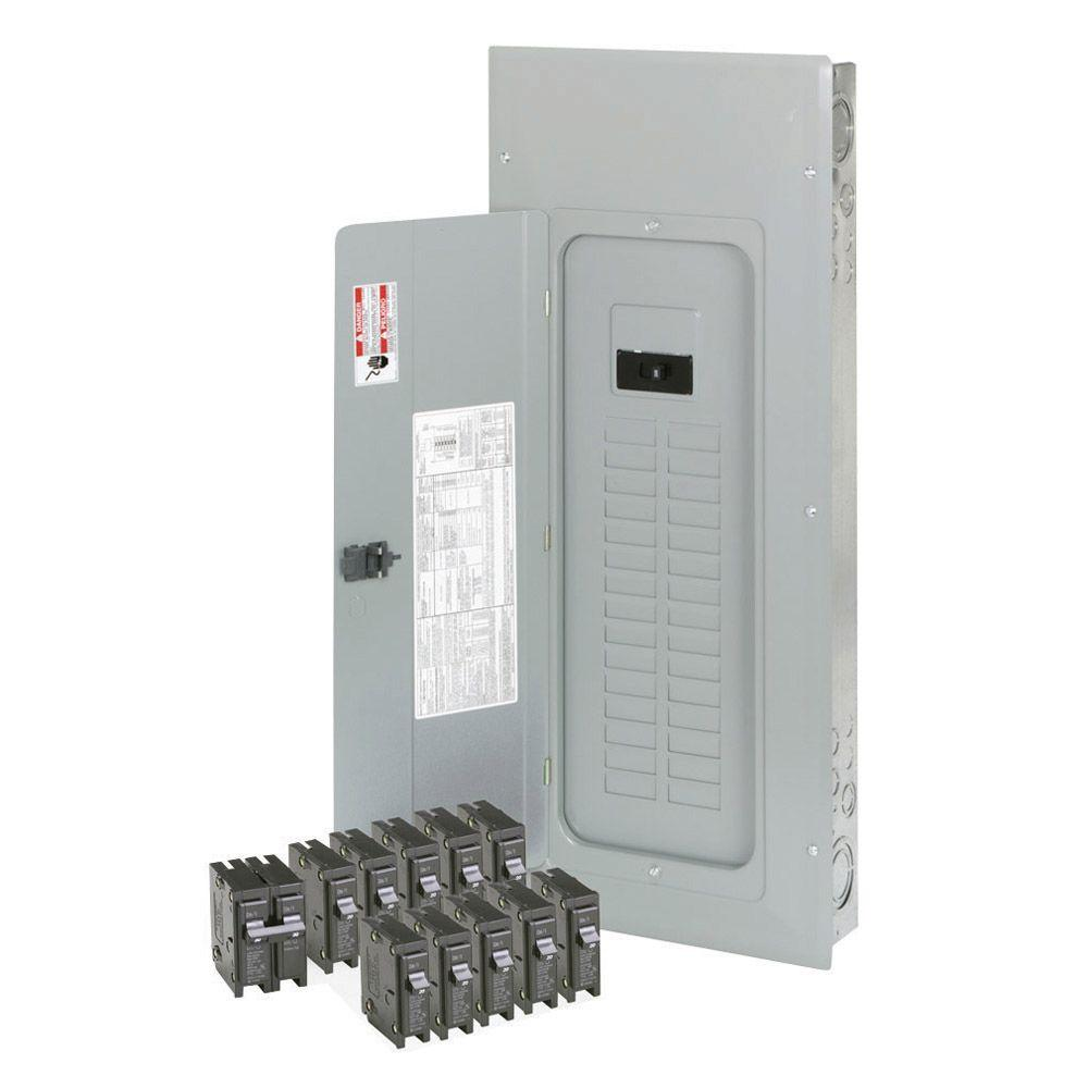 Eaton 200 Amp 30-Spaces 40-Circuits BR Main Lug Loadcenter Value Pack (Includes 11 Breakers)
