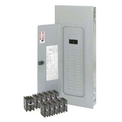 BR 200 Amp 30-Space 40-Circuit Indoor Main Lug Loadcenter with Cover Value Pack (10-BR120, 1-BR230)
