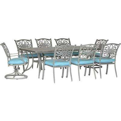 blue patio dining furniture patio furniture the home depot rh homedepot com