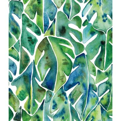 28.29 sq. ft. Cat Coquillette Philodendron Peel and Stick Wallpaper
