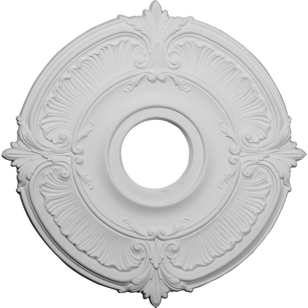 18 in. x 18 in. x 5/8 in. Polyurethane Attica Ceiling Medallion