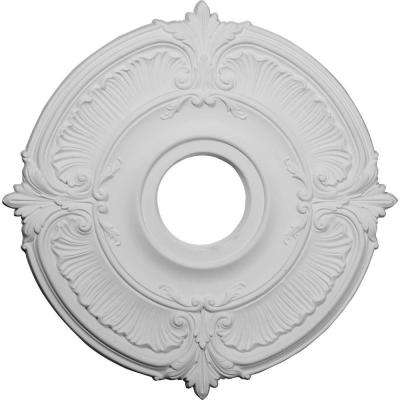 18 in. x 4 in. I.D. x 5/8 in. Attica Urethane Ceiling Medallion (Fits Canopies upto 5 in.)