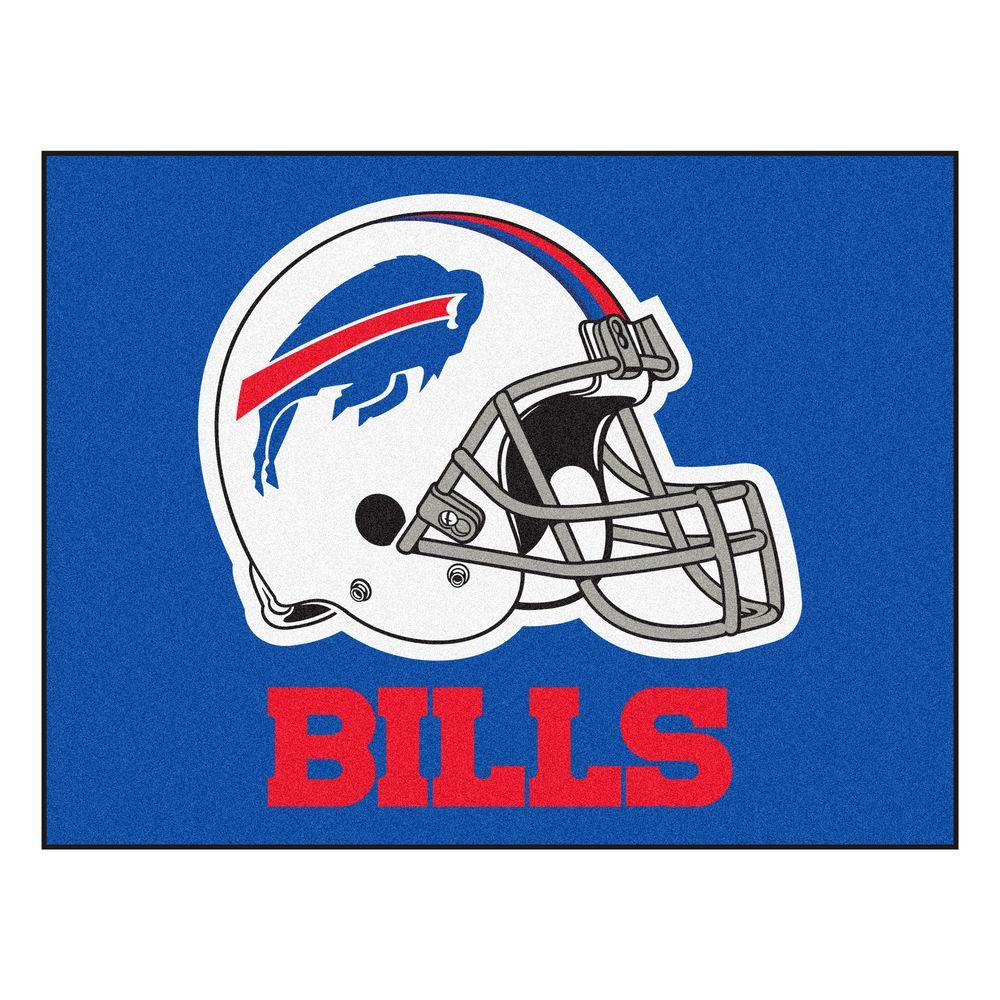 NFL Buffalo Bills Blue 3 ft. x 4 ft. Indoor All