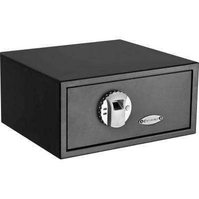 0.8 cu. ft. Standard Safe with Biometric Lock, Black Matte