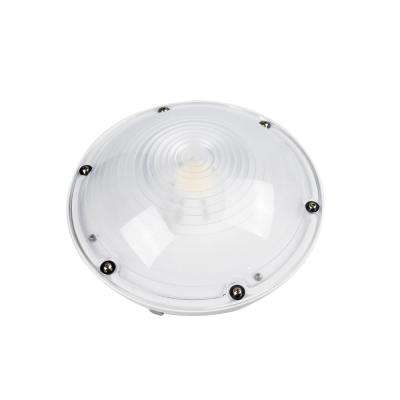 40-Watt White Outdoor Integrated LED Area Canopy Light Dimmable (5000K)