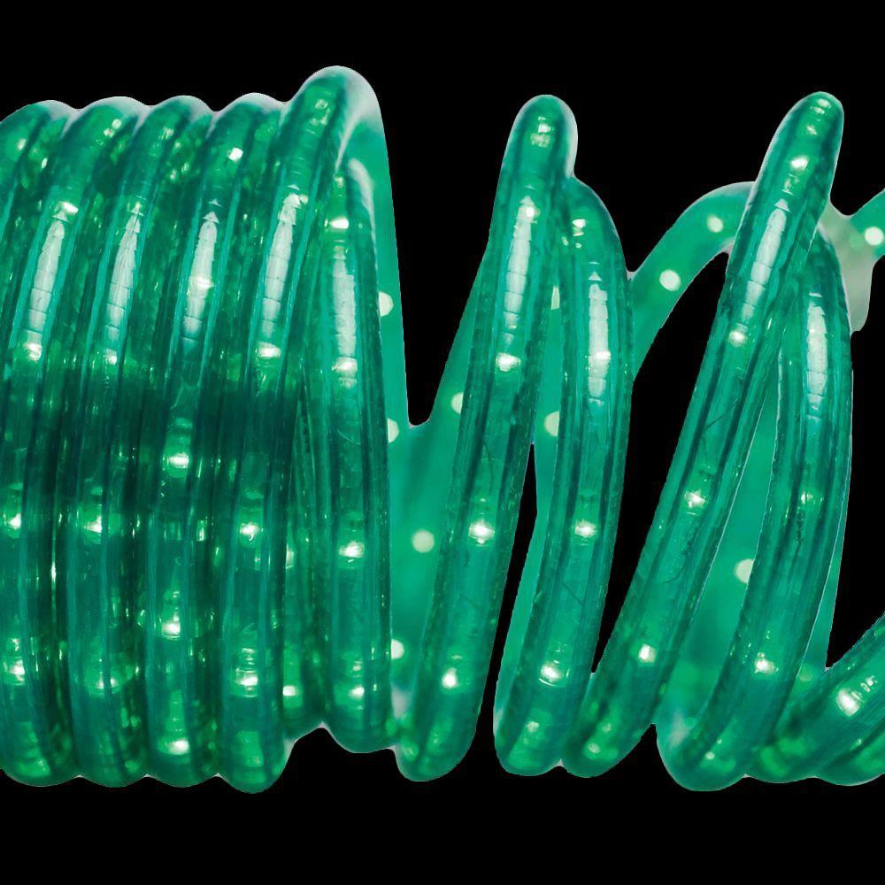 18 ft. 50-Light Green Rope Light