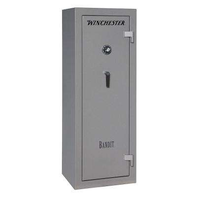 Bandit 14 cu. ft. 18-Gun 45-Minute Fire Resistant U.L. Mechanical Lock Gun Safe, Gunmetal