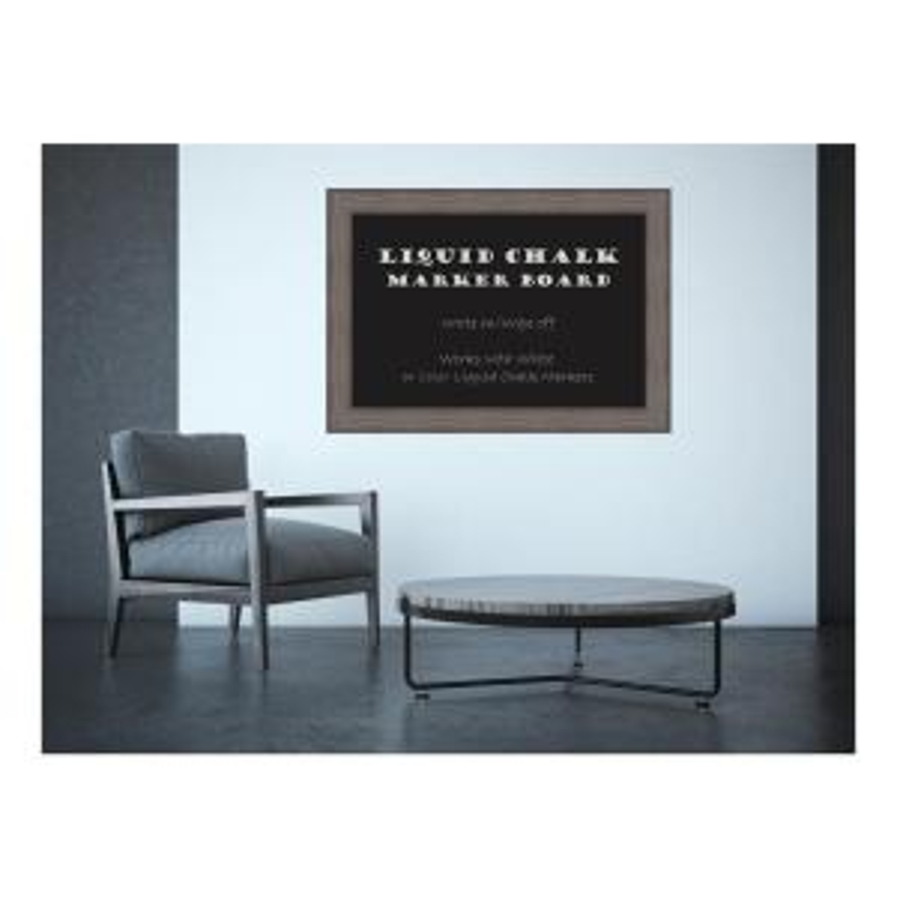 Amanti Art Country Barnwood Rustic Gray Wood 29.5 inch H x 41.5 inch W Framed... by Amanti Art