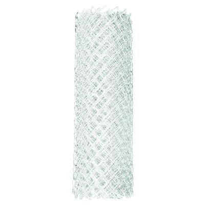 4 ft. x 50 ft. 9-Gauge White Chain Link Fabric