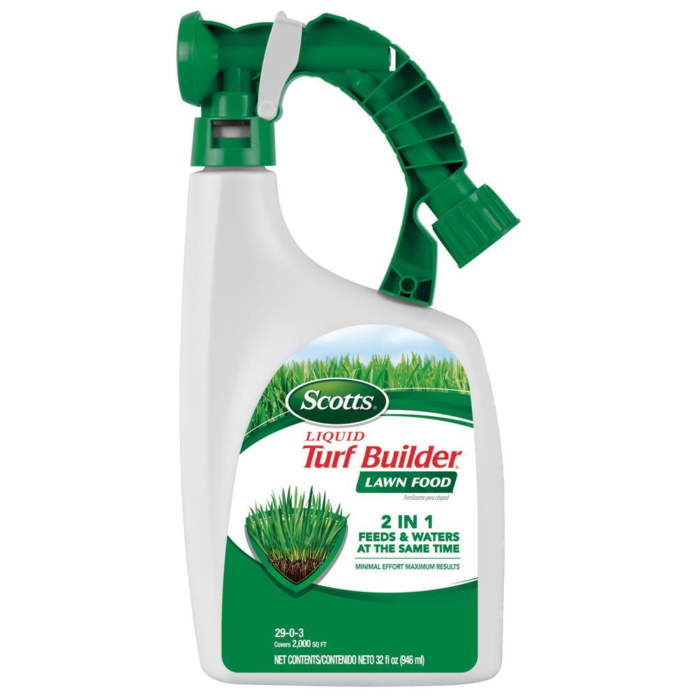Scotts Turf Builder 32 oz. 3,000 sq. ft. Liquid Lawn Fertilizer
