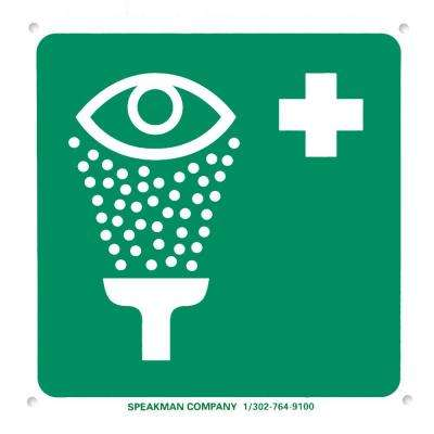 Emergency Eyewash Safety Sign