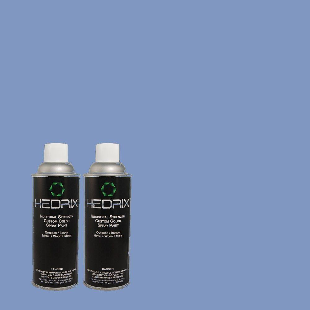 Hedrix 11 oz. Match of MQ4-26 Come Sail Away Gloss Custom Spray Paint (8-Pack)