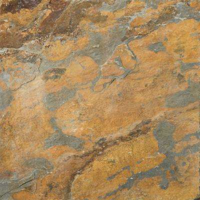 Slate Earth Calibrated/Gauged 11.89 in. x 11.89 in. Slate Floor and Wall Tile