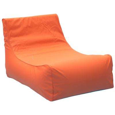Aruba Inflatable Lounge Chair in Orange