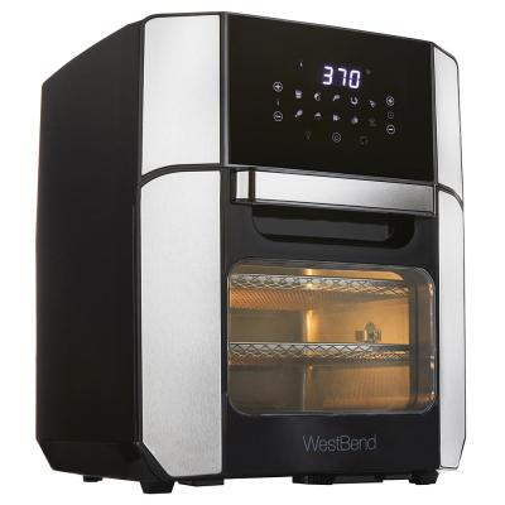 12.6 QT XL Air Fryer Oven - Bake, Roast, Rotisserie, Dehydrate, Re-Heat 10 Quick Menu Presets