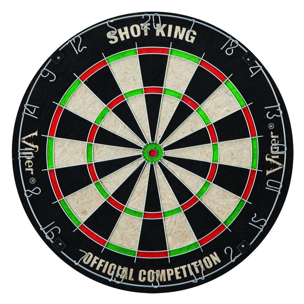 Hathaway Shot King Sisal 18 in. Dart Board
