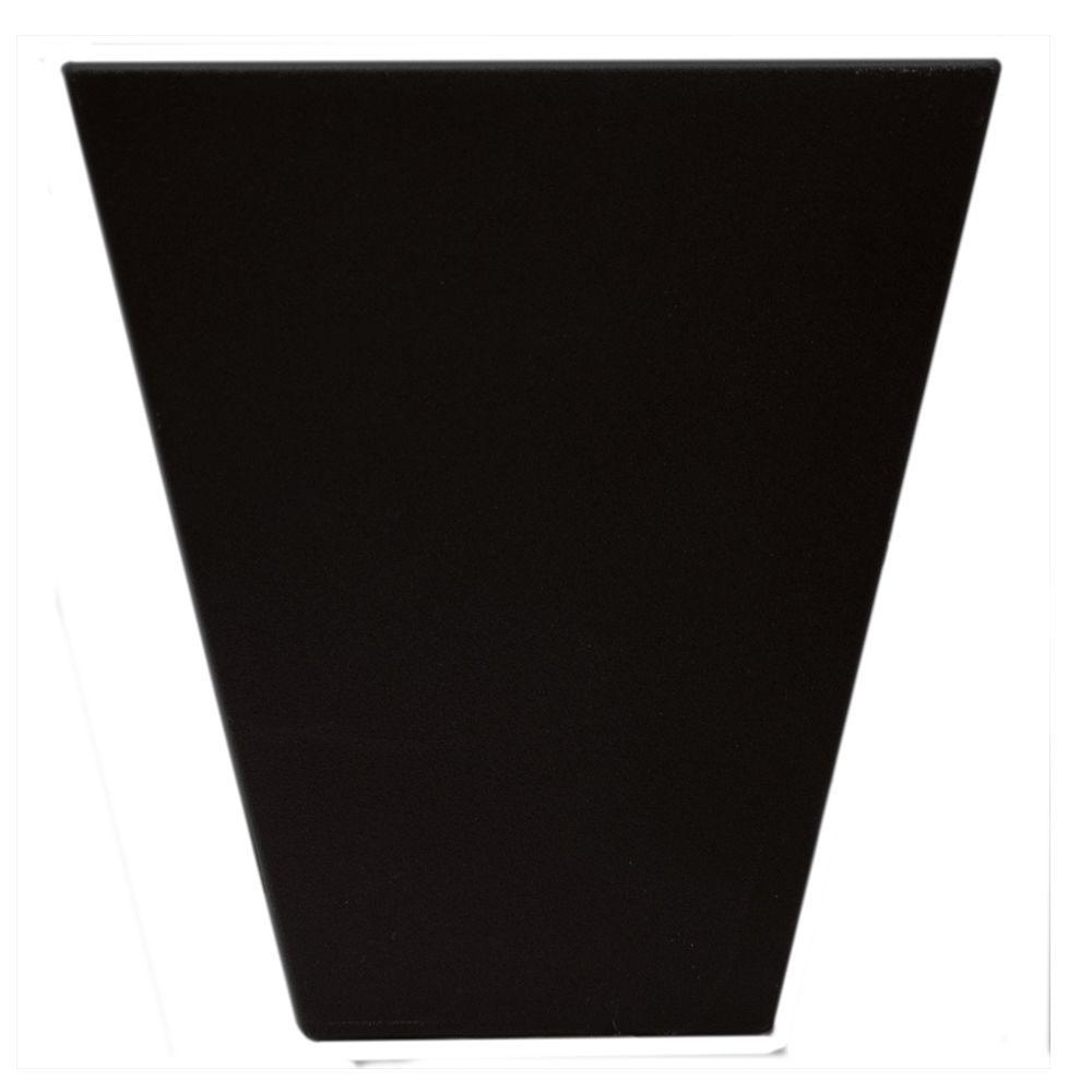 6 in. Flat Panel Window Header Keystone in 002 Black