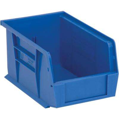 Ultra Series Stack and Hang 2.4 Gal. Storage Bin in Blue (12-Pack)