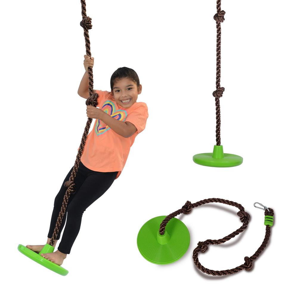 Reviews For Swurfer Disco 3 In 1 Multi Purpose Sit Stand And Climb Disc Swing Heavy Duty Climbing Rope Swing Ssw 0002 The Home Depot