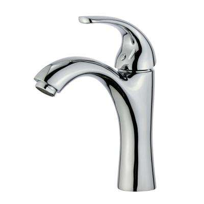 Seville Single Hole Single-Handle Bathroom Faucet in Polished Chrome