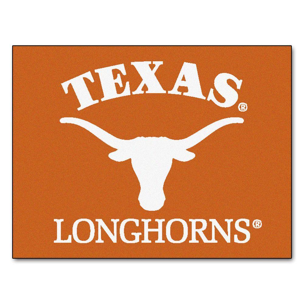 University of Texas 3 ft. x 4 ft. All-Star Rug
