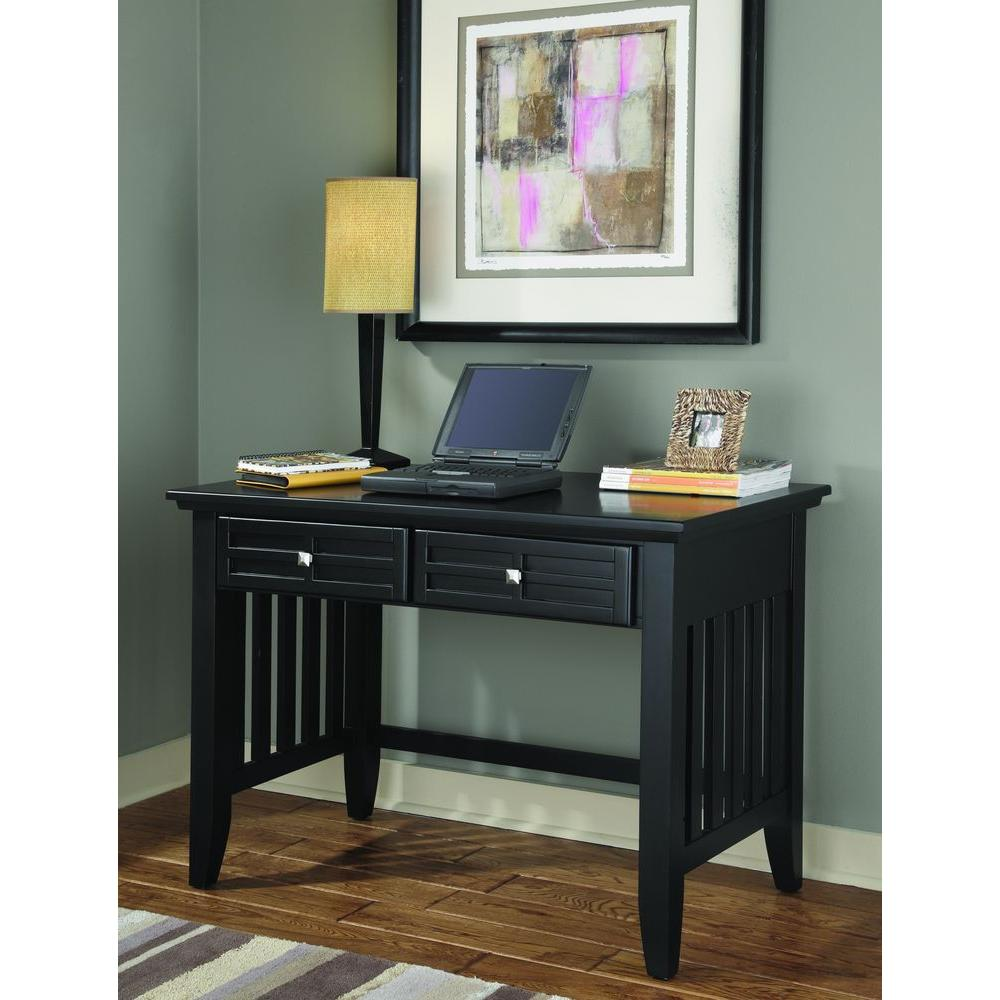 Arts and Crafts Black Desk