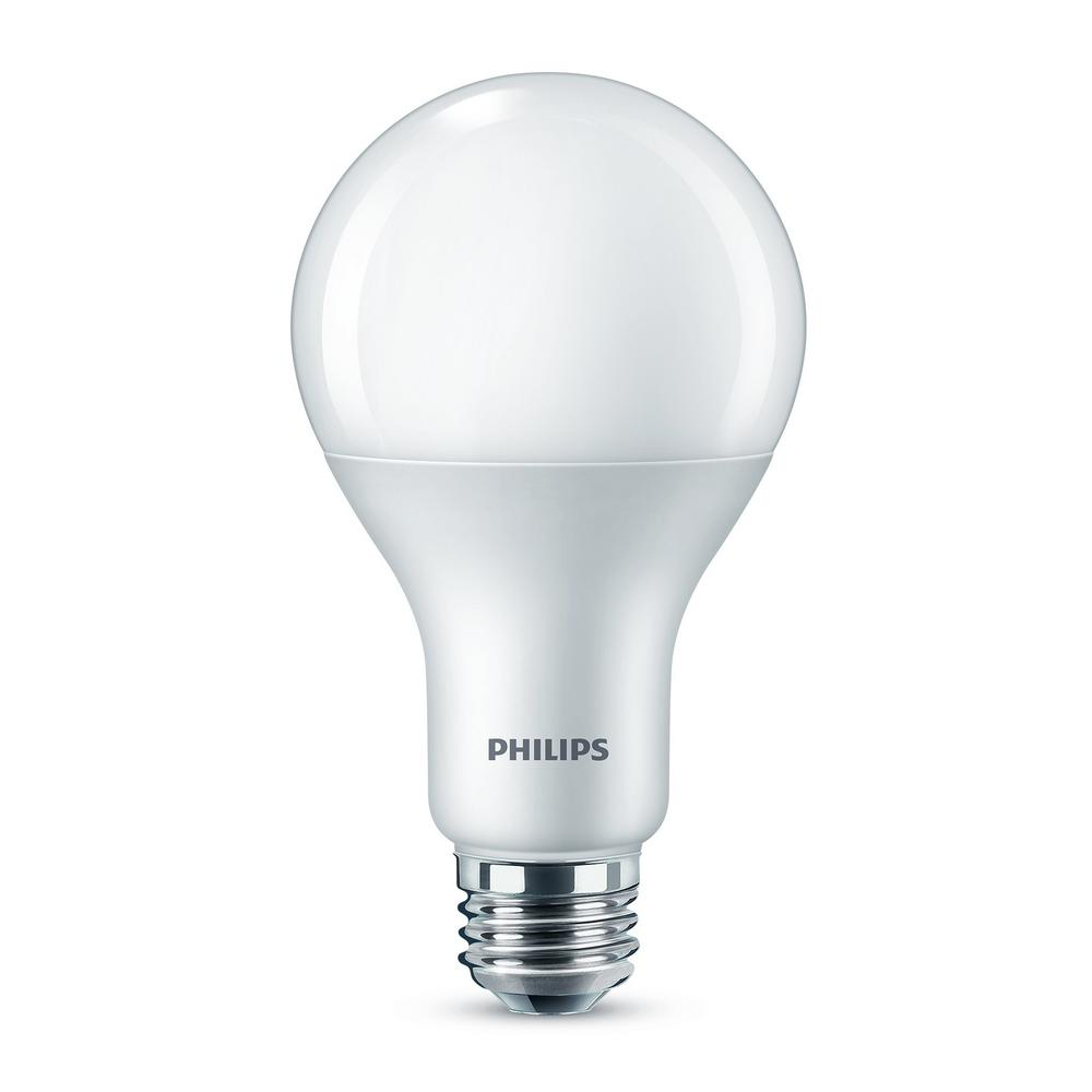 Philips 150-Watt Equivalent A21 Dimmable Energy Saving LED Light Bulb Daylight (5000K) (1-Bulb)