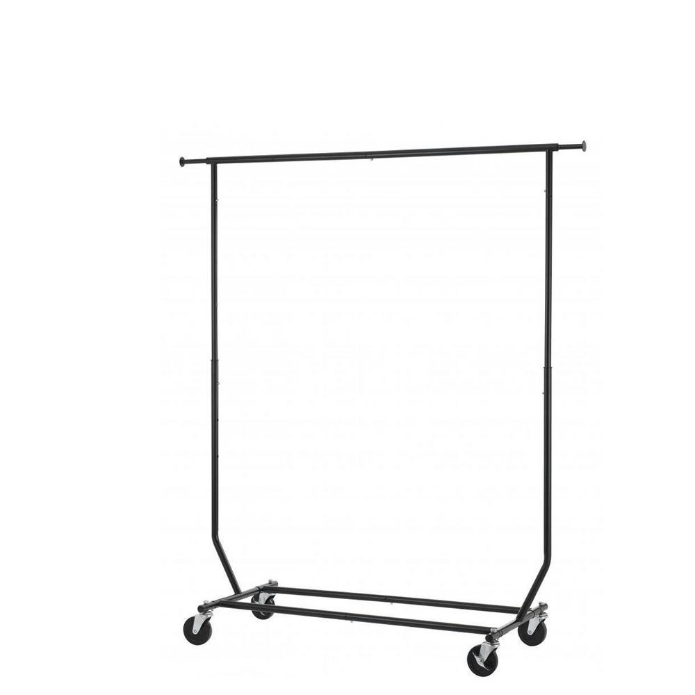 L heavy duty commercial steel shelf clothing garment
