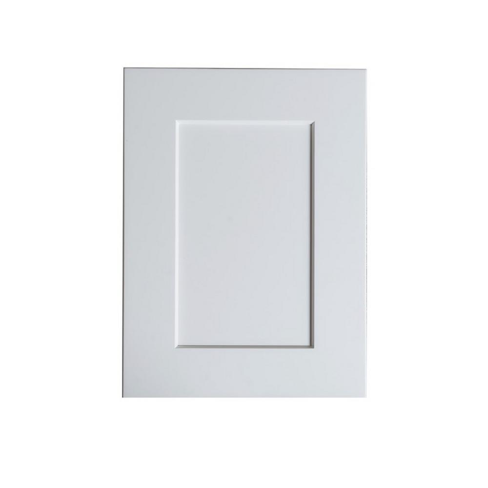 Hampton Bay Bremen 11 X 15 In Cabinet Door Sample In White Sw Sampled The Home Depot