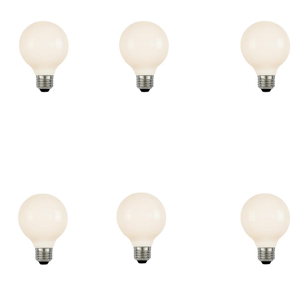 Westinghouse 40w Equivalent Soft White G25 Dimmable: Westinghouse 40W Equivalent Amber ST20 Dimmable Filament