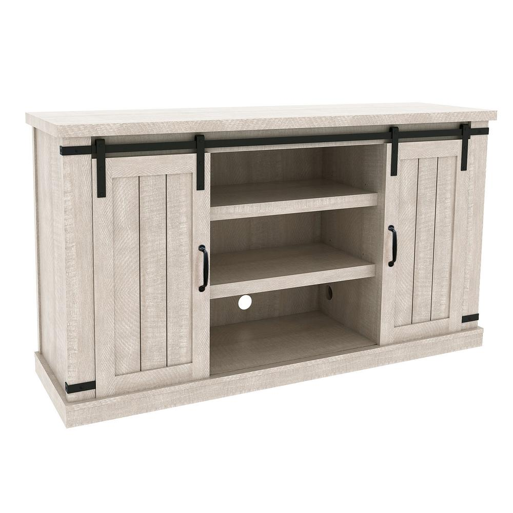 Meadow 55 in. Natural Media Console