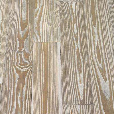 Antiqued Gray Pine 3/4 in. Thick x 5-1/8 in. Wide x Random Length Solid Hardwood Flooring (23.3 sq. ft. / case)