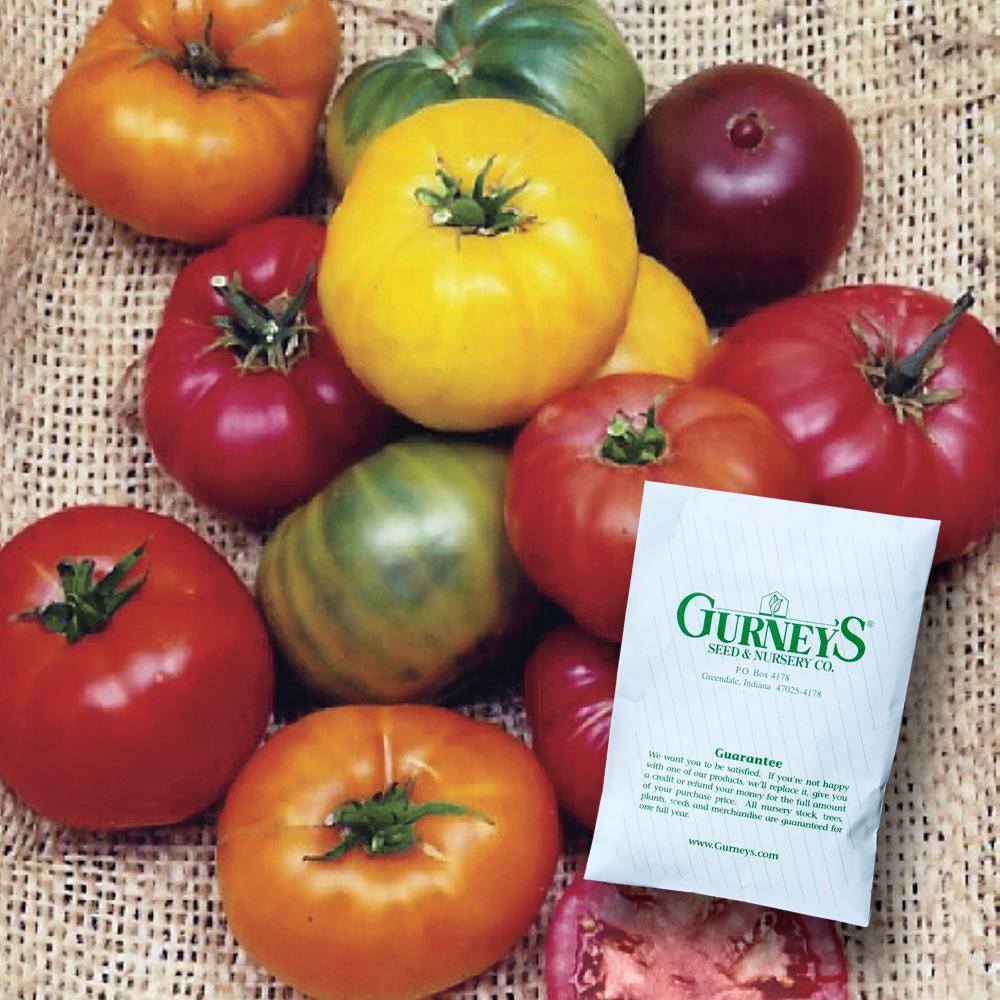 Tomato Heirloom Rainbow Blend (30 Seed Packet)
