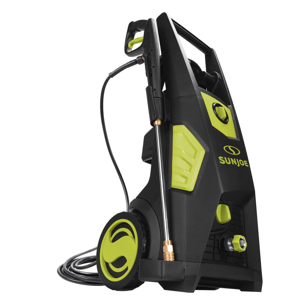Sun Joe 2300 PSI 1.48 GPM Brushless Induction Electric Pressure Washer with Brass Hose Connector