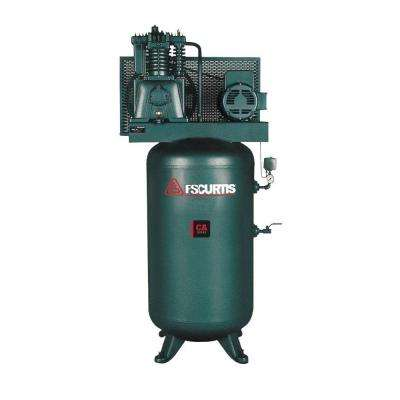 80 Gal. 7.5 HP 230-Volt 1-Phase Electric Air Compressor