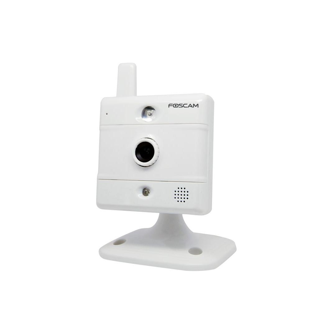Foscam Wireless 480TVL CMOS IP Rectangle shaped Indoor/Outdoor Surveillance Camera