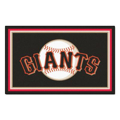 San Francisco Giants 4 ft. x 6 ft. Area Rug