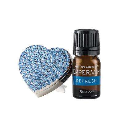 Bling Air Blue Vent Clip Air Freshener with Essential Oil