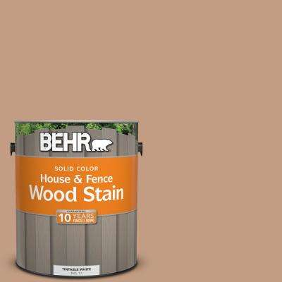 1 gal. #S210-4 Canyon Dusk Solid House and Fence Wood Stain