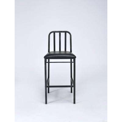 Jodie 29 in. Black Cushioned Bar Stool (Set of 2)