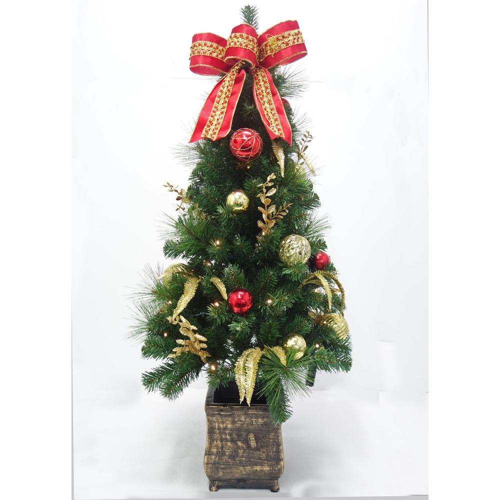 Ge Pre Lit Artificial Christmas Trees